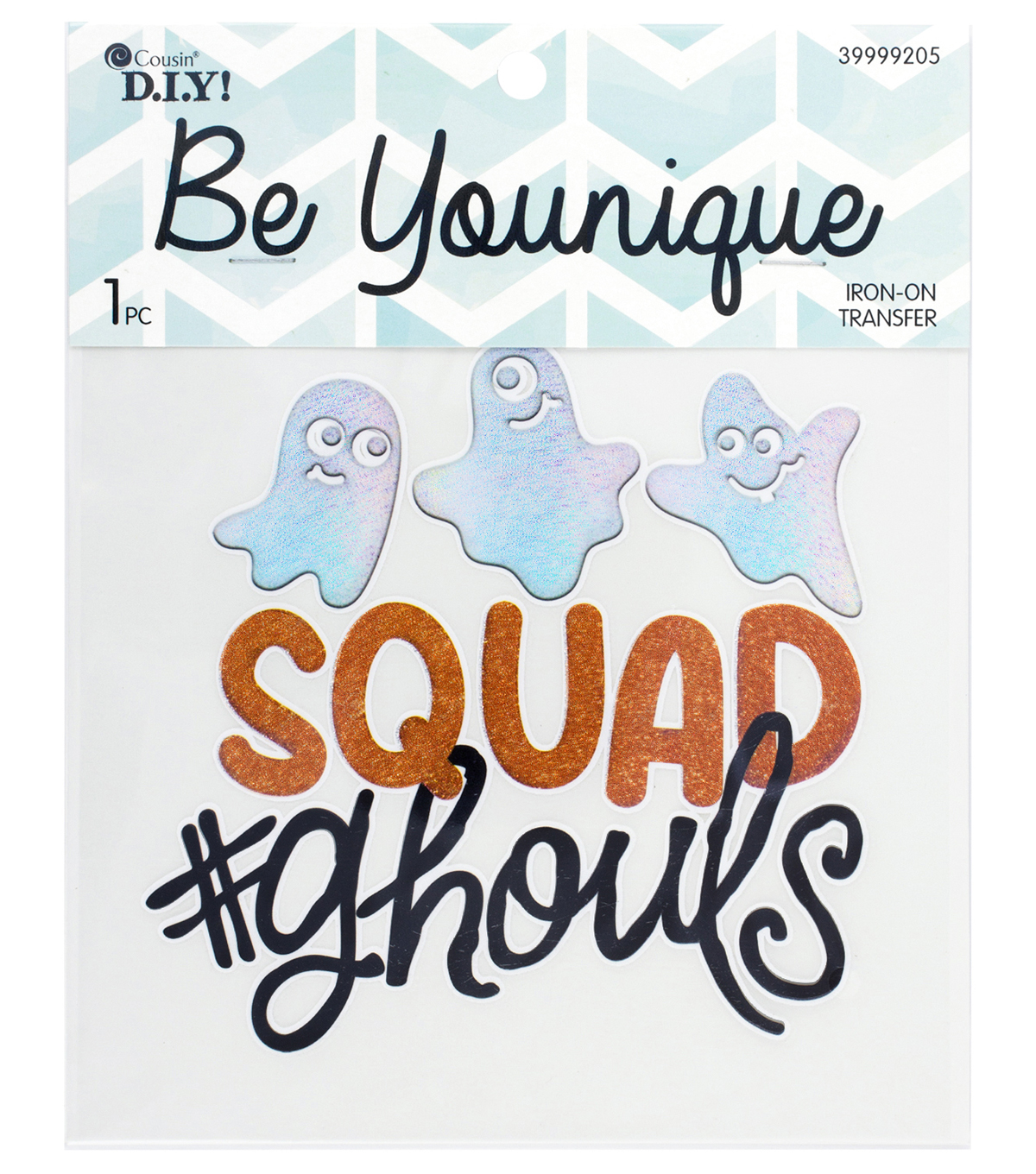 Cousin® DIY Be Younique Iron-On Transfer-Squad Ghouls