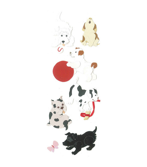 Touch Of Jolee\u0027s Dimensional Sticker-Bringing Home Puppy