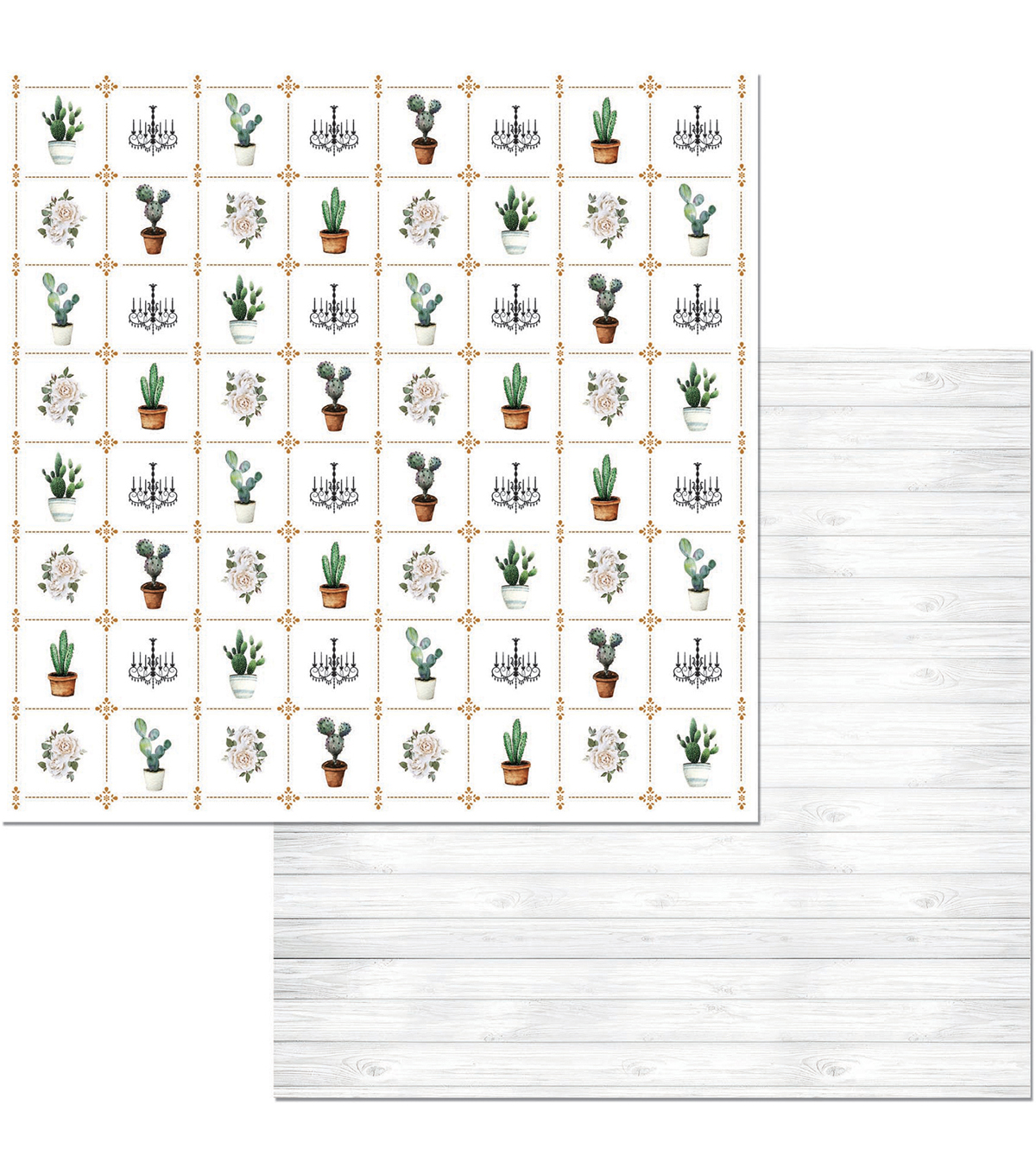 Garden Party Double-Sided Cardstock 12\u0022X12\u0022-Whimsy