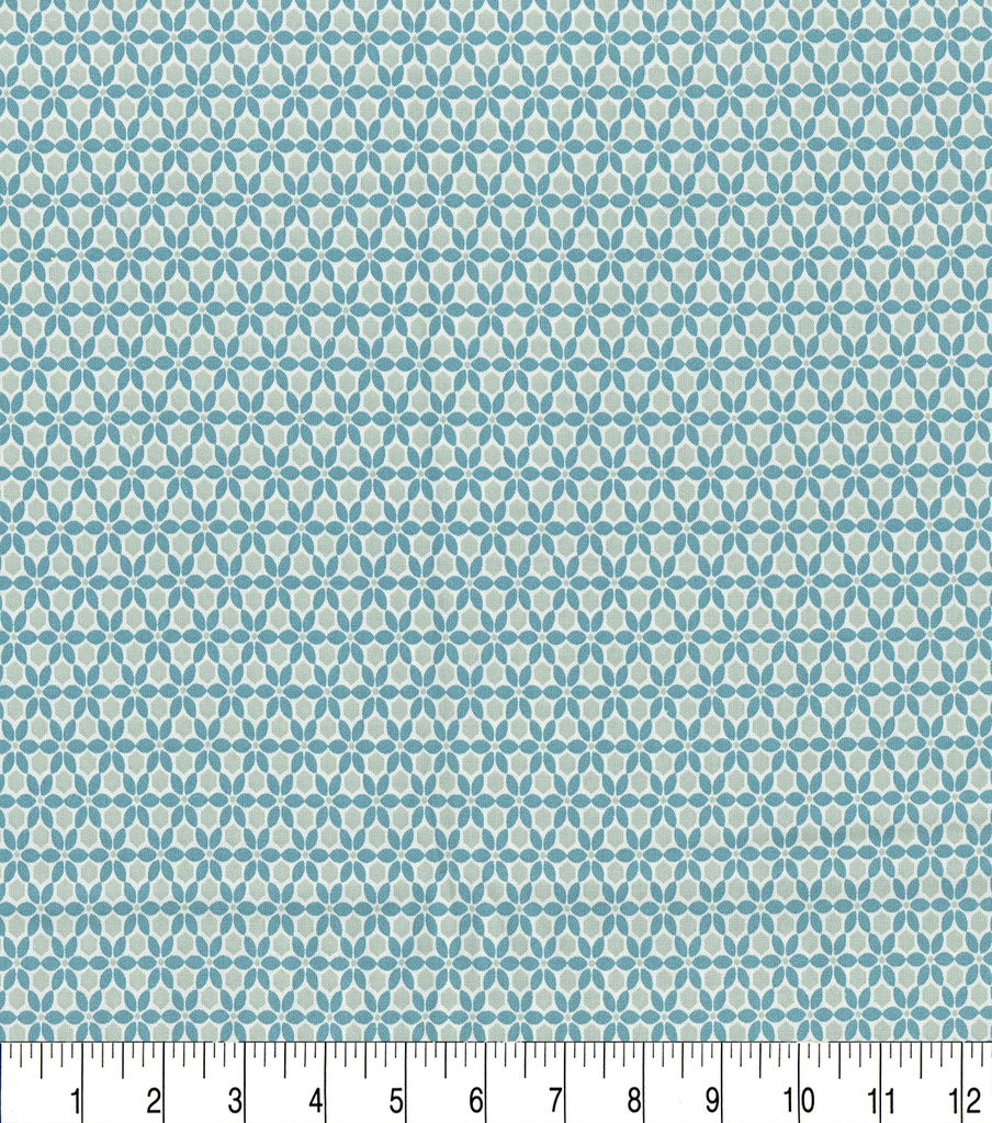 Keepsake Calico™ Cotton Fabric 44\u0022-Tintype Teal