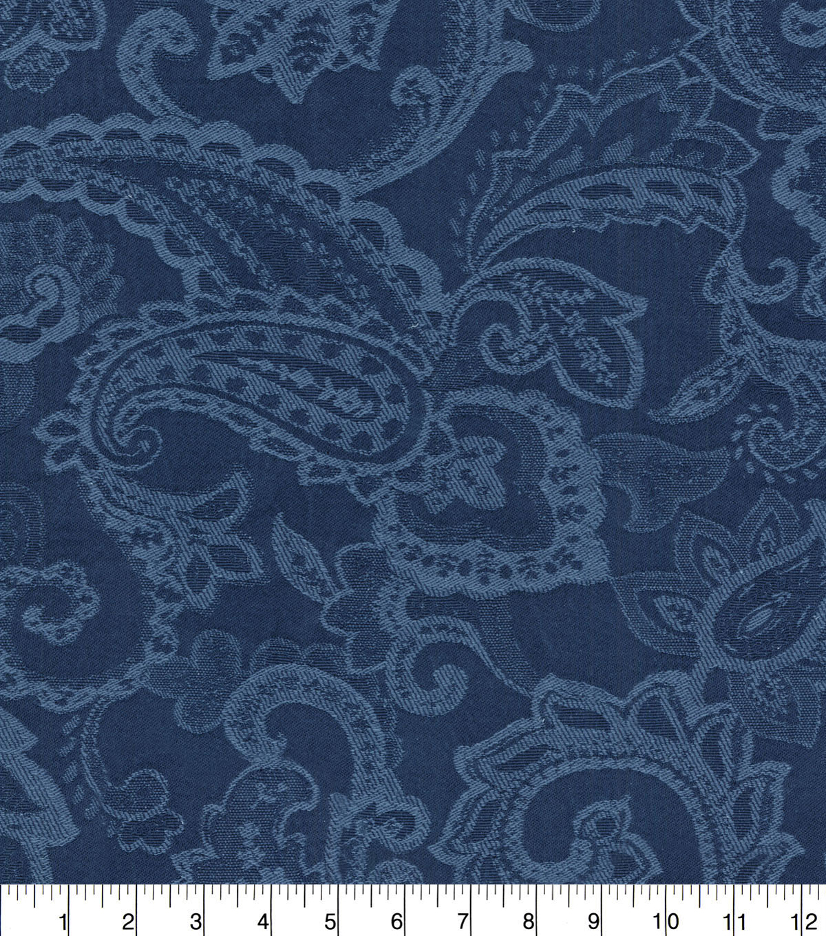 "Waverly Upholstery Fabric 54""-Past Tense Indigo"