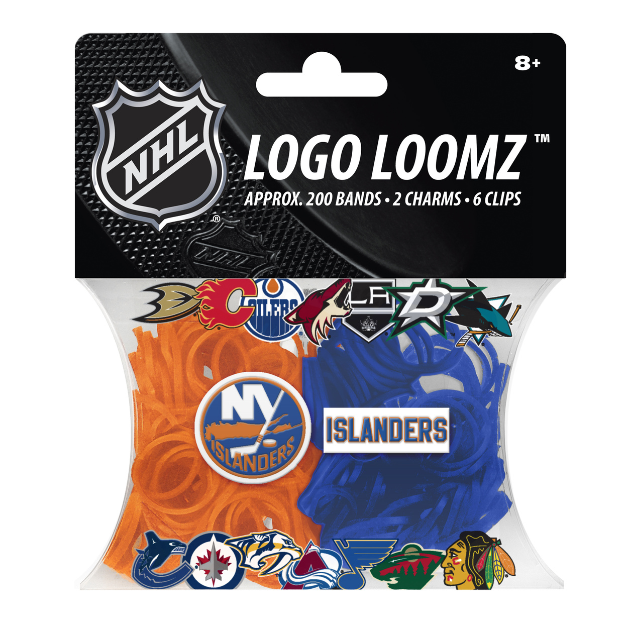 New York Islanders Logo Loomz Filler Pack by Forever Collectibles