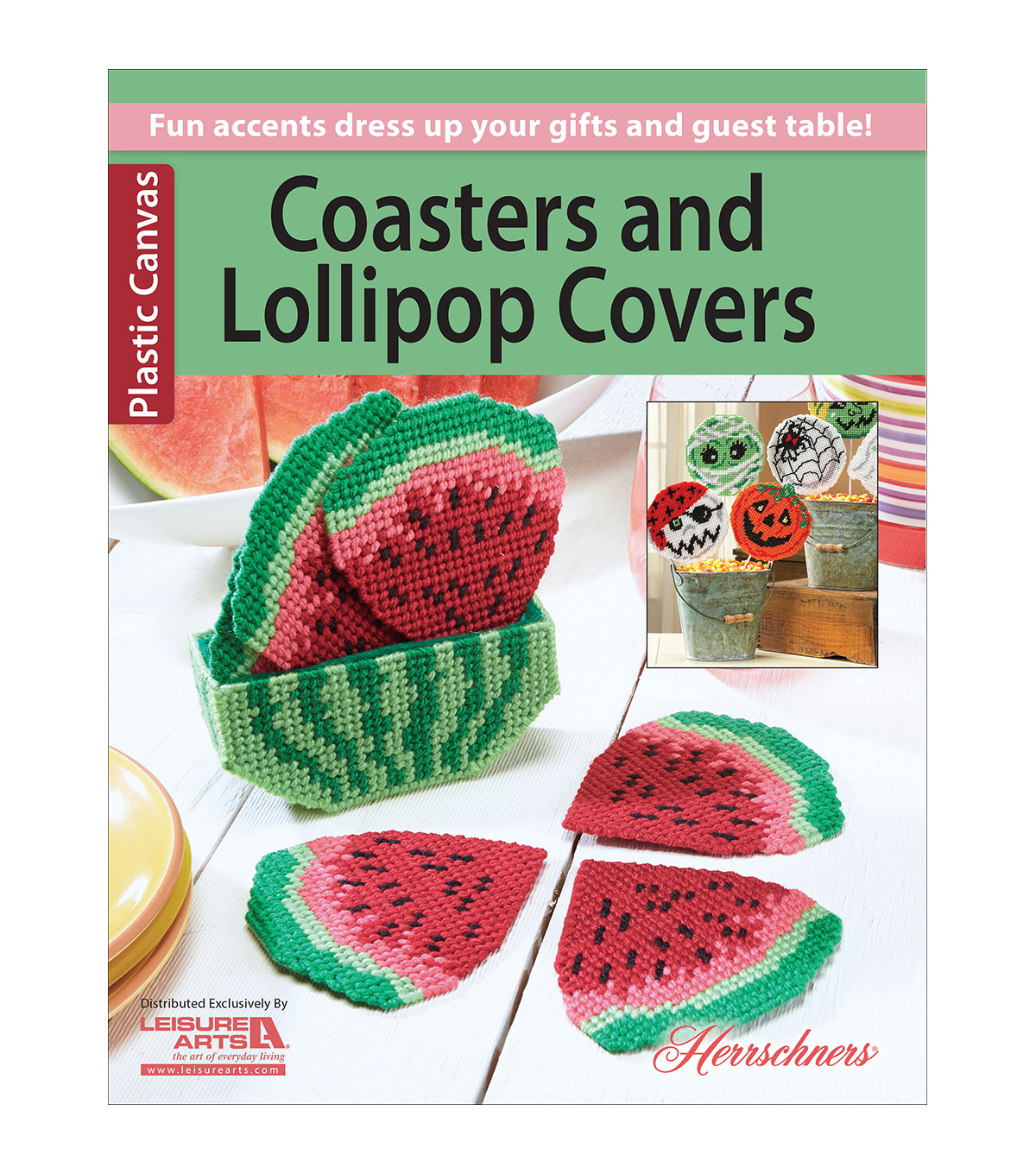 Twenty To Make Coasters And Lollipop Covers Knitting Book