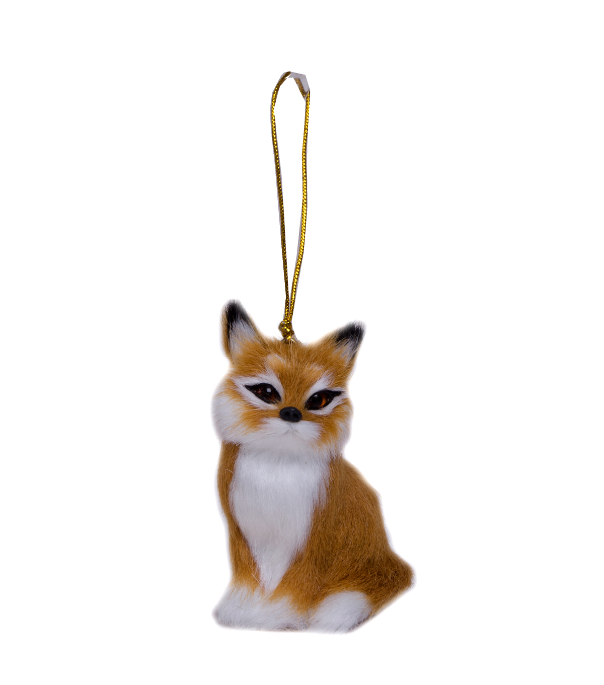 Maker\u0027s Holiday Furry Fox Ornament