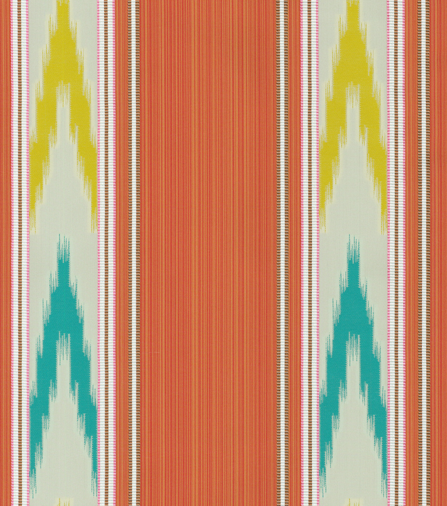 Williamsburg Upholstery Fabric 56\u0022-Manipur Ikat/Turmeric