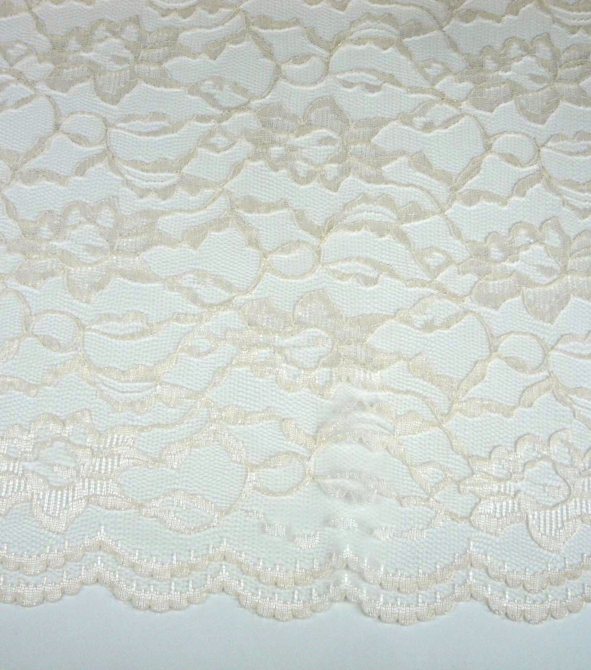 "Casa Collection™ Lace Fabric 58""-Eggnog"