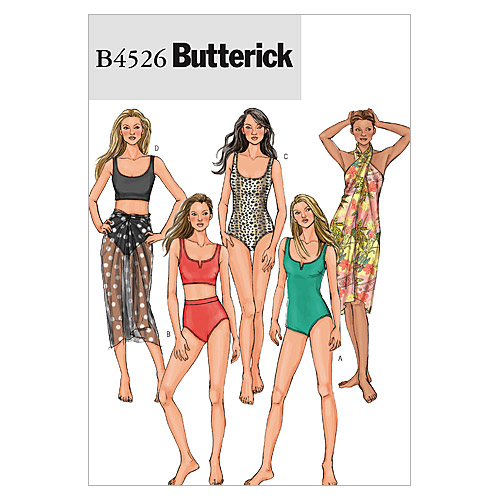 Butterick Misses Activewear-B4526