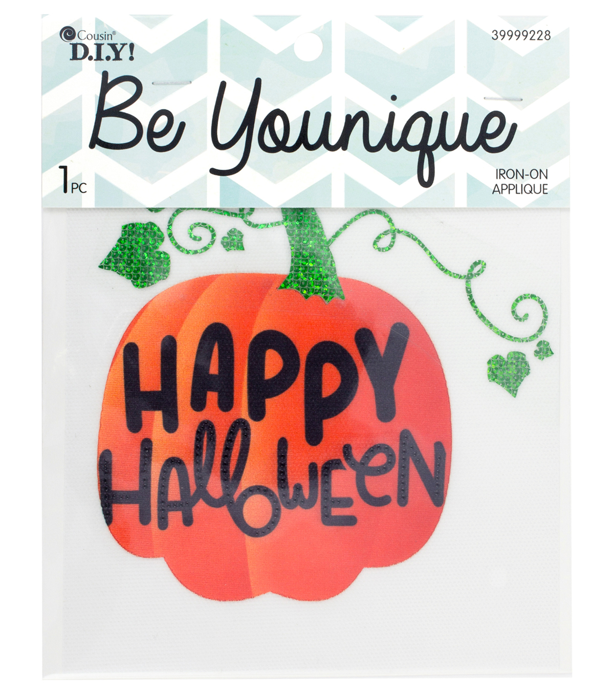 Cousin® DIY Be Younique Iron-On Transfer-Happy Halloween