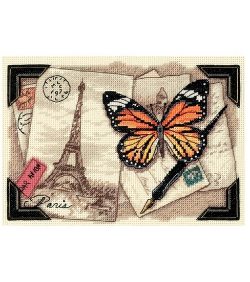 Dimensions Gold Collection Counted Cross-Stitch Travel Memories Petite