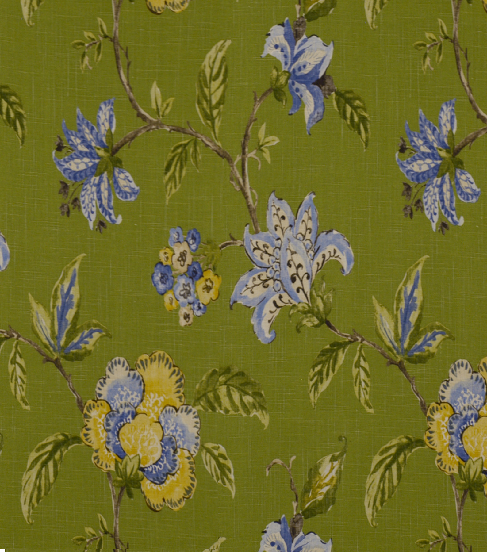 Robert Allen @ Home Print Fabric 54\u0022-Les Fauves Grasslands