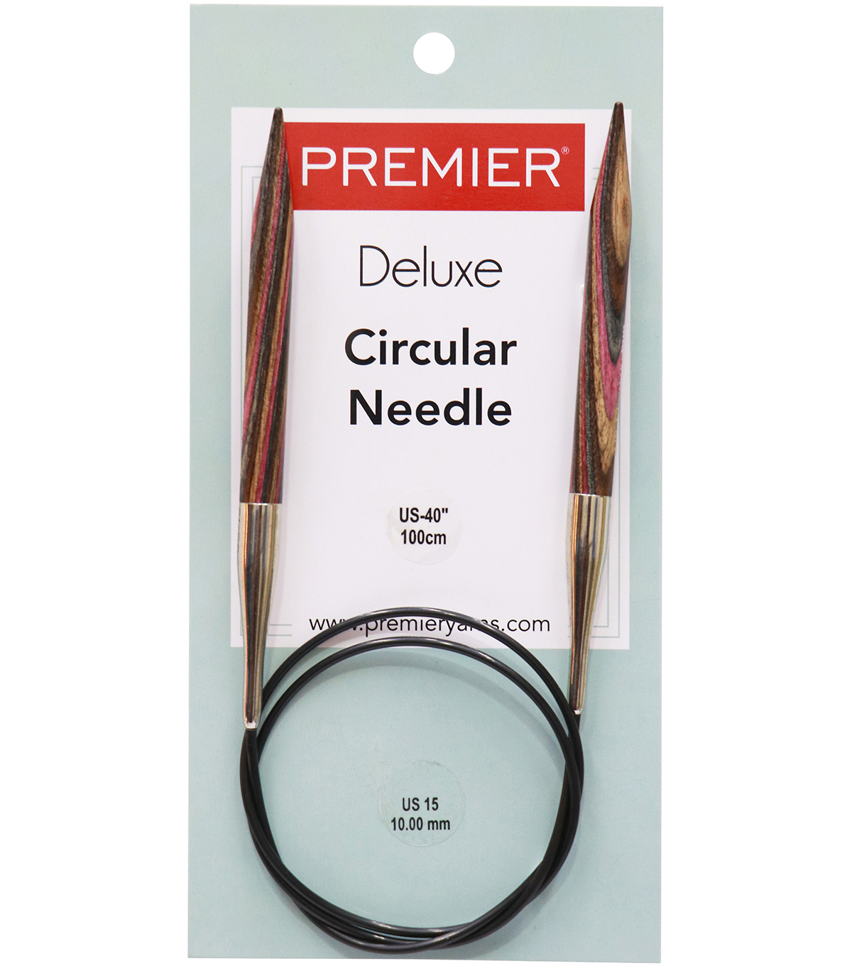 Deborah Norville Fixed Circular Needles 40\u0022 Size 15/10.0mm
