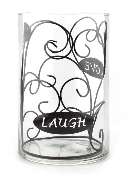 Hudson 43™ Candle&Light Collection Live Laugh Love Hurricane