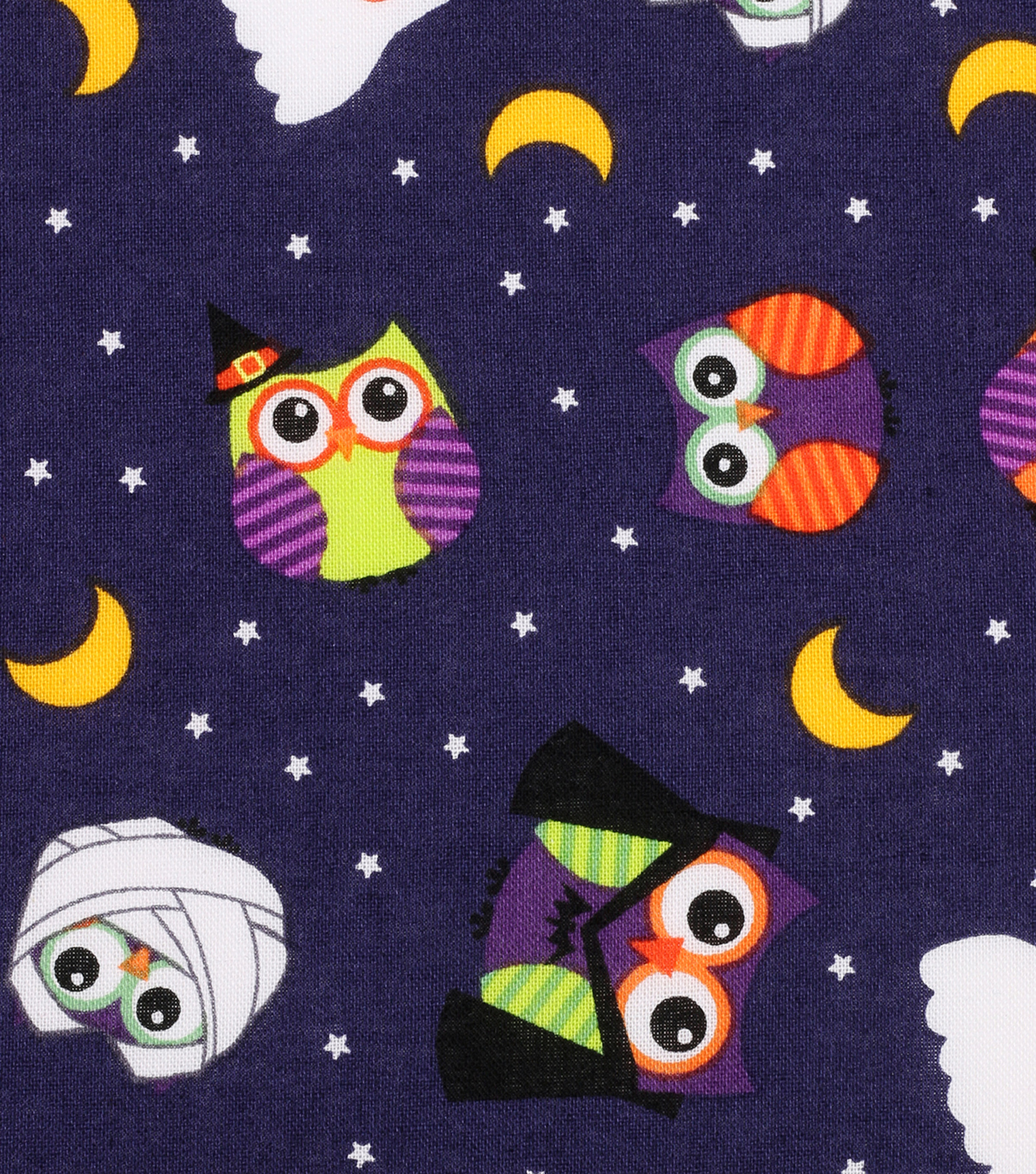 Halloween Cotton Fabric 43\u0022-Spooky Critters