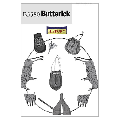 Butterick Pattern B5580 Adult Historical Costumes