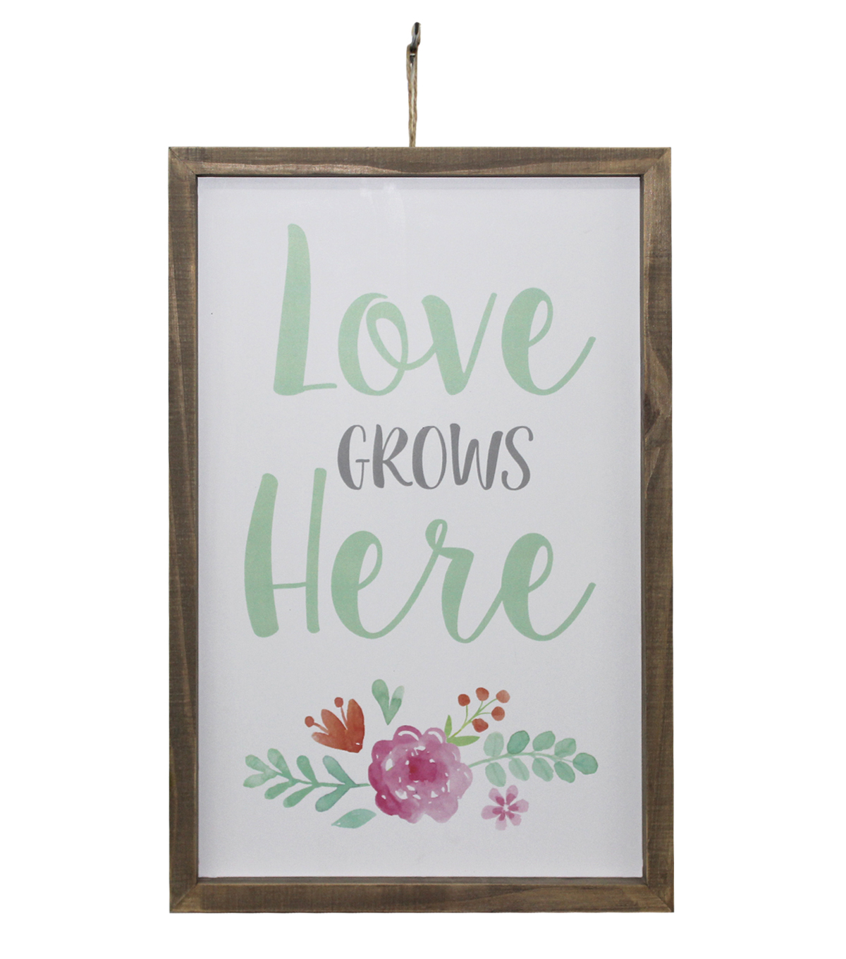 Wild Blooms Wall Decor-Love Grows Here