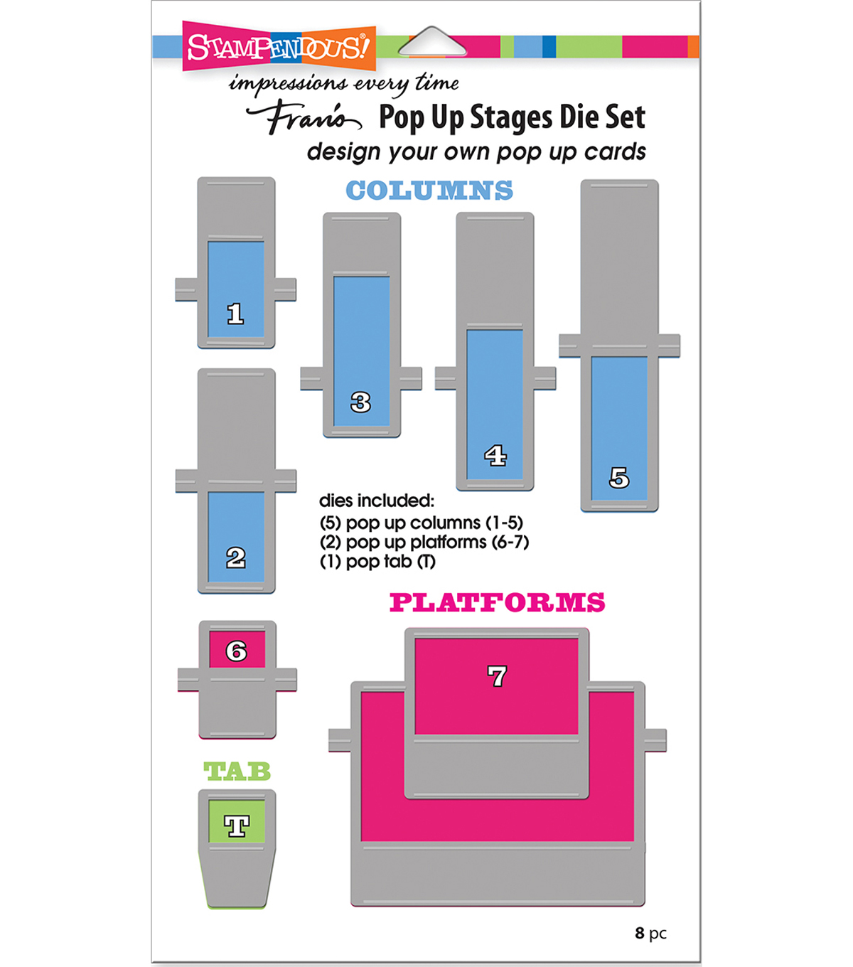 Stampendous Dies-Pop Up Stages