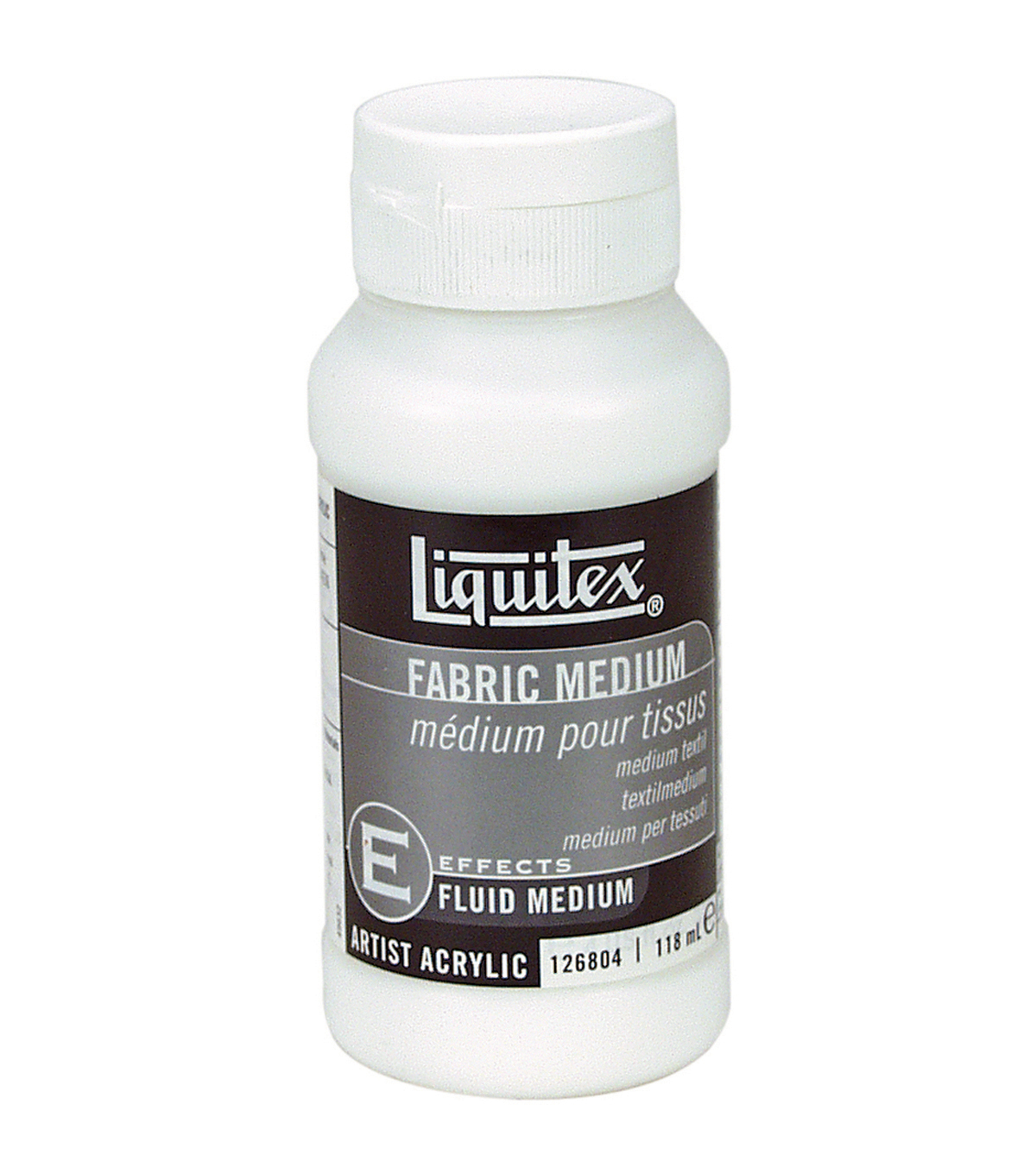 Liquitex Fabric Acrylic Fluid Medium-4 Ounces