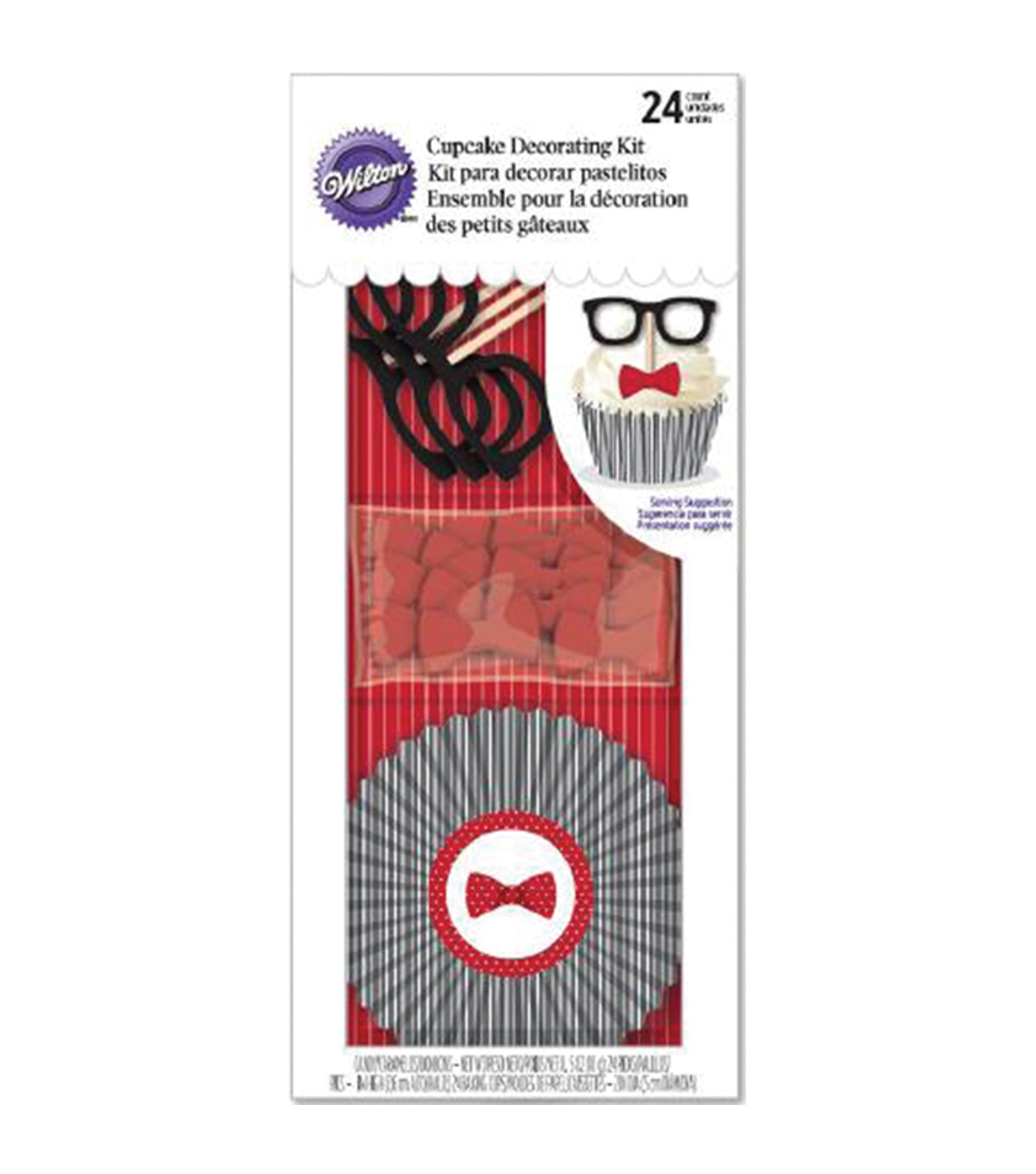 Wilton® Cupcake Decorating Kit-Glasses