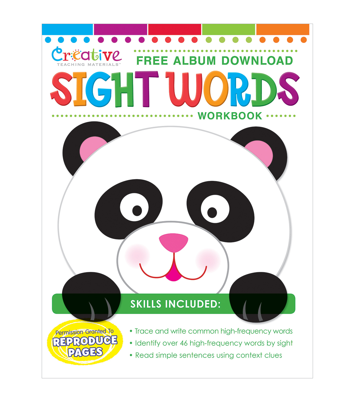 Creative Teaching Materials Workbook-Sight Words
