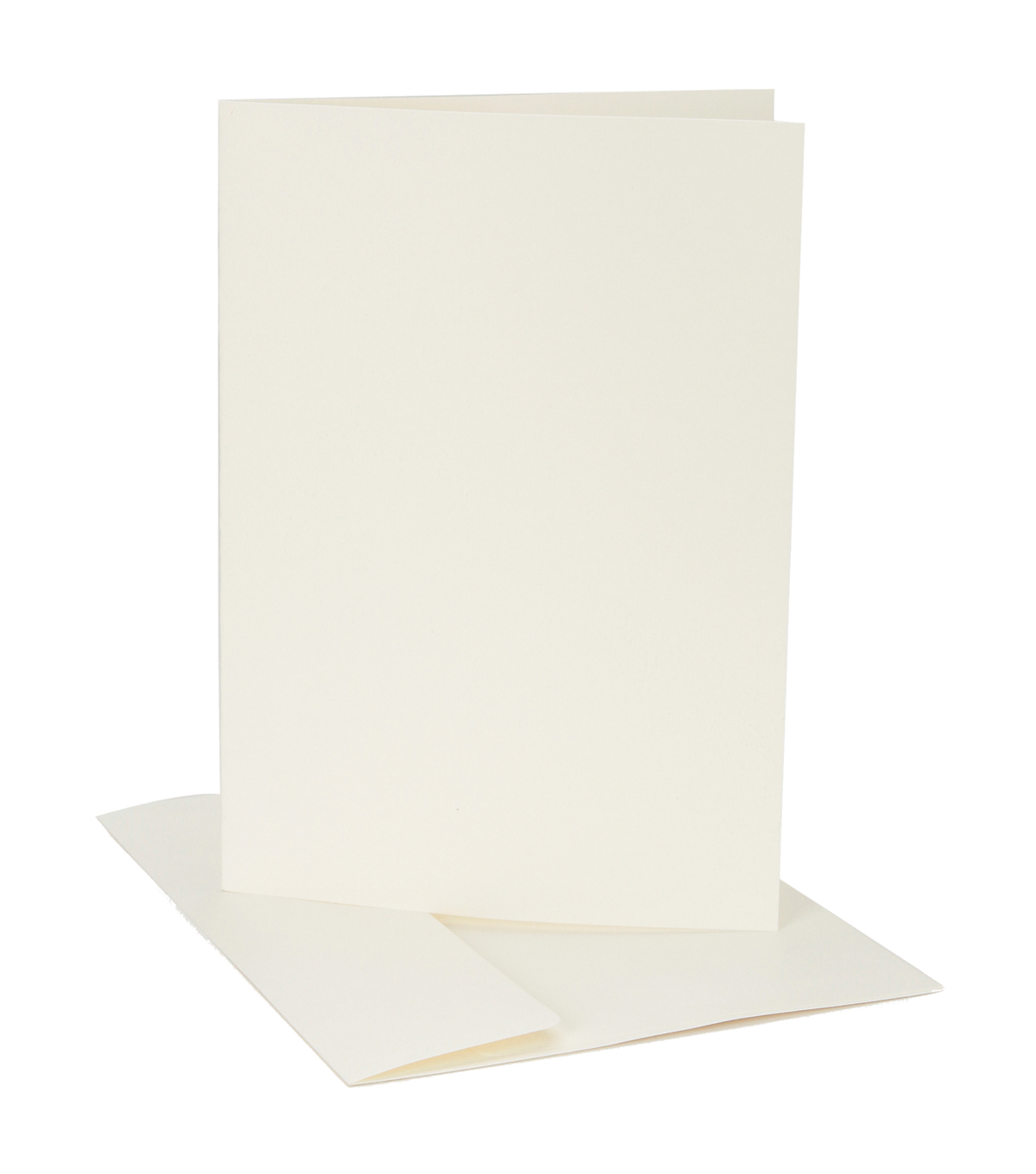 Core\u0027dinations Card/Envelopes:  A6 Ivory Canvas; 12 pack