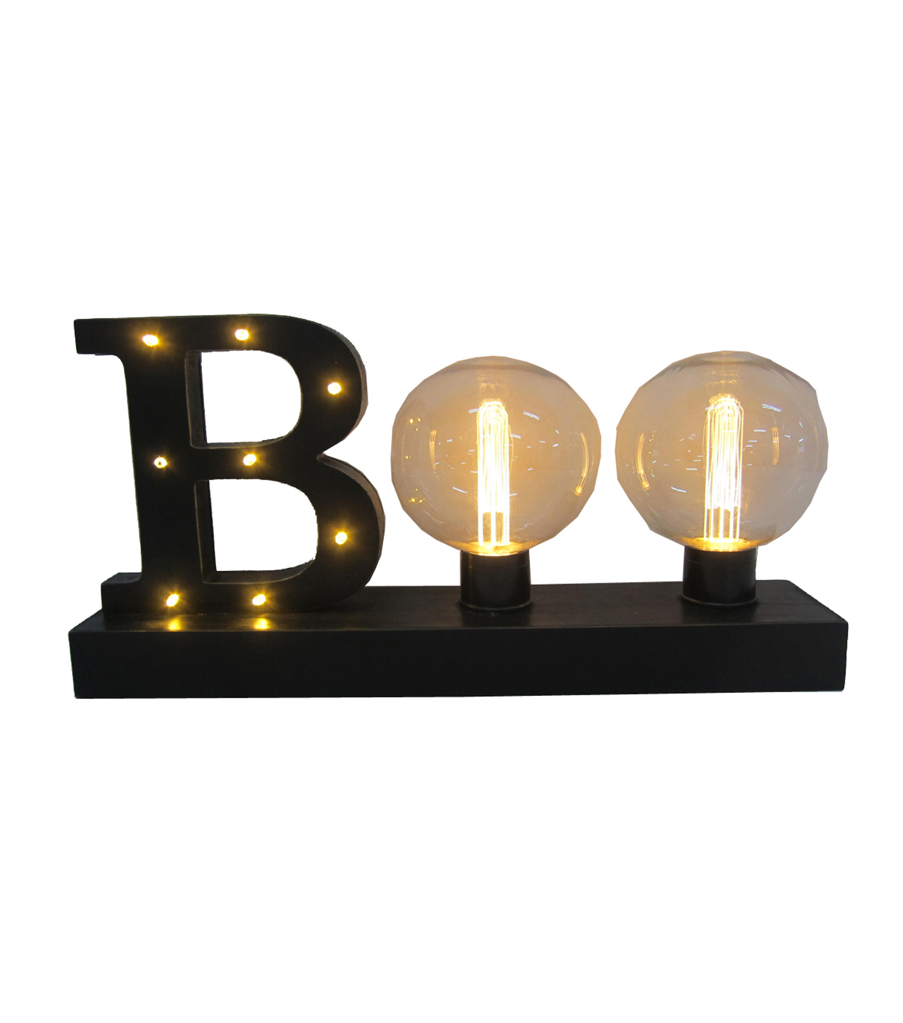 Maker\u0027s Halloween LED Edison Bulb Boo Light