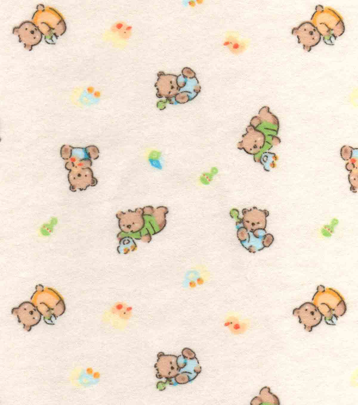 Snuggle Flannel Fabric 42\u0022-Baby Teddy Bears