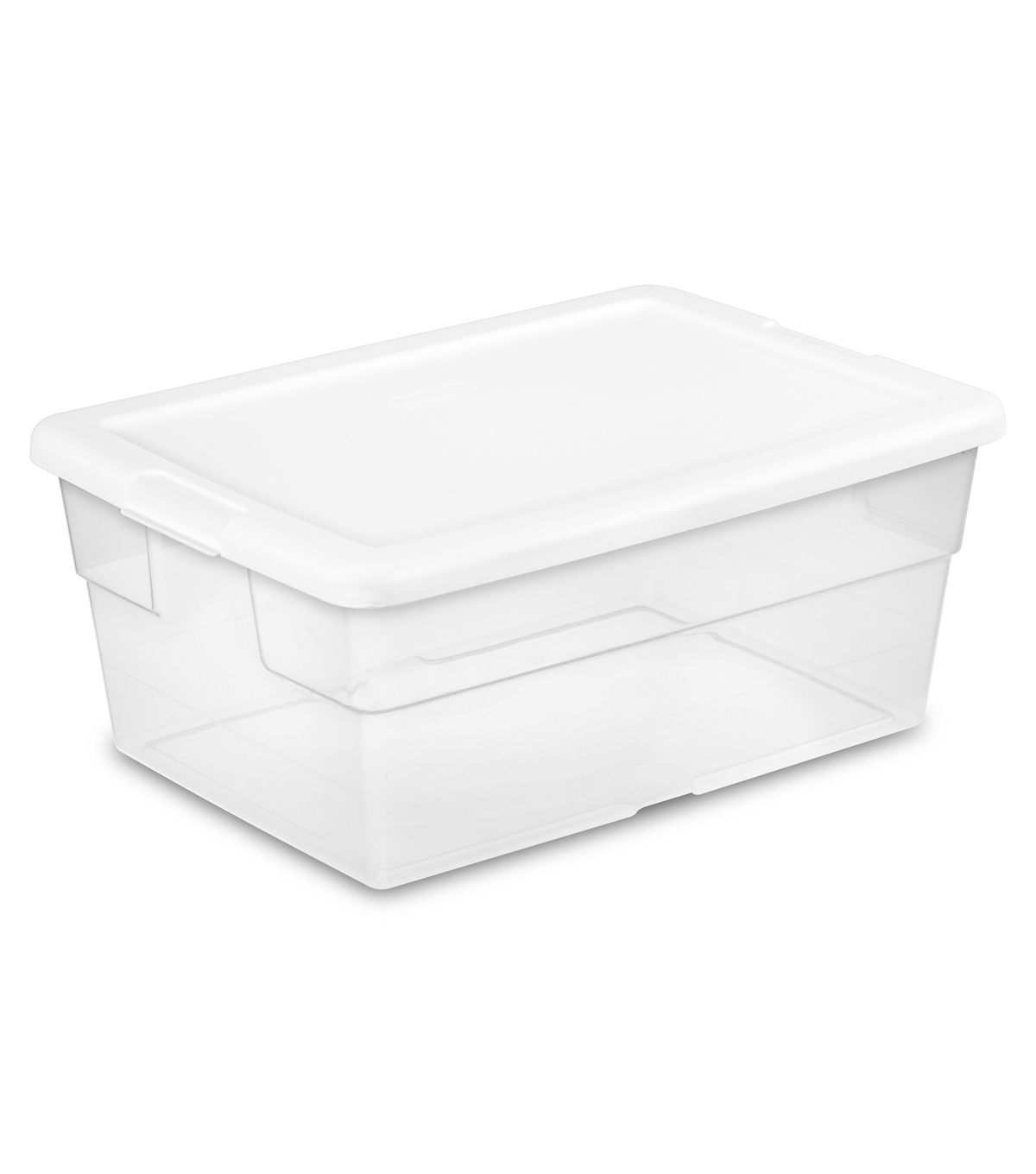 Sterilite 16 Qt Storage Box-White
