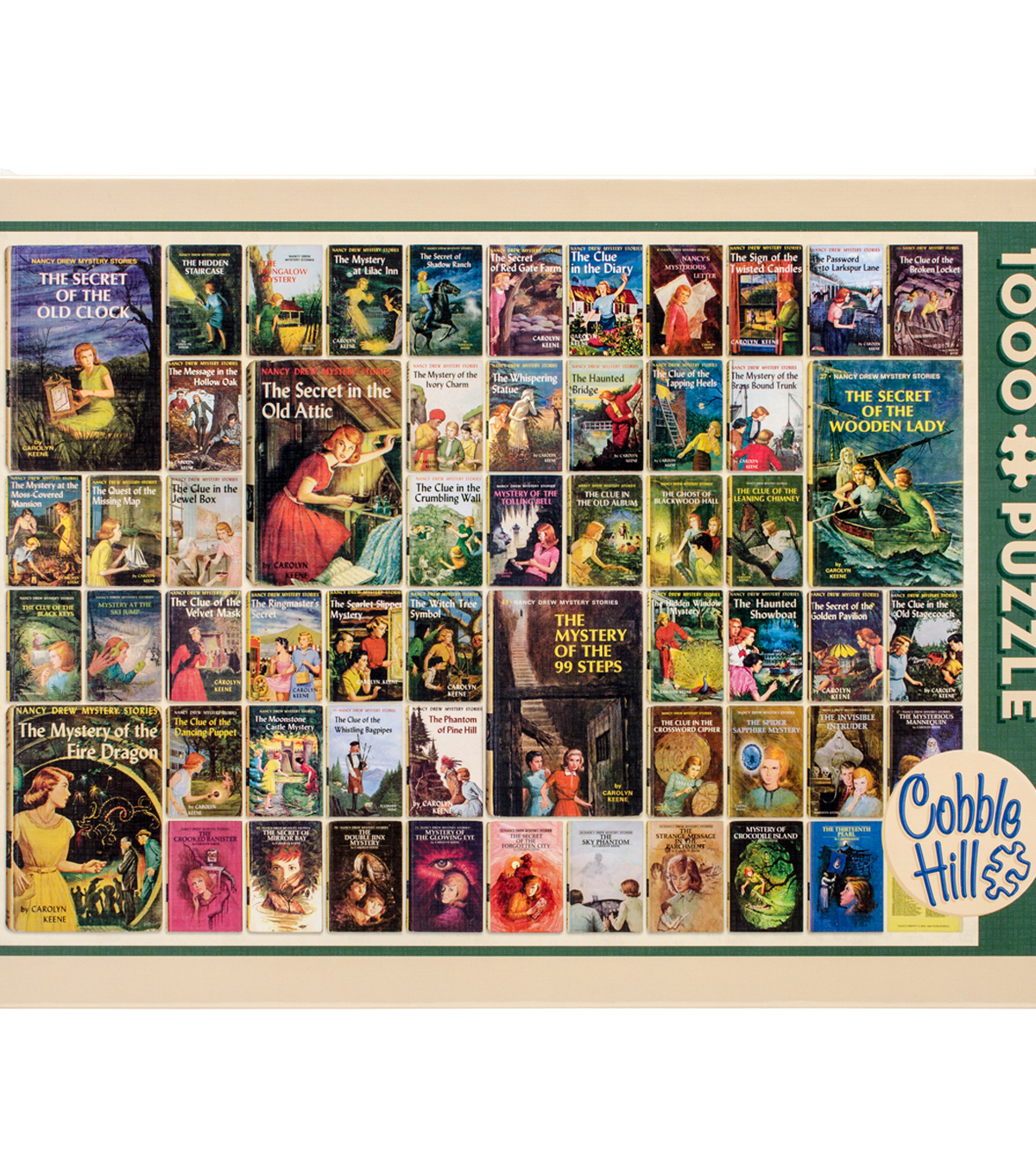 Jigsaw Puzzle 1000 Pieces 19.2\u0022X27\u0022-Nancy Drew