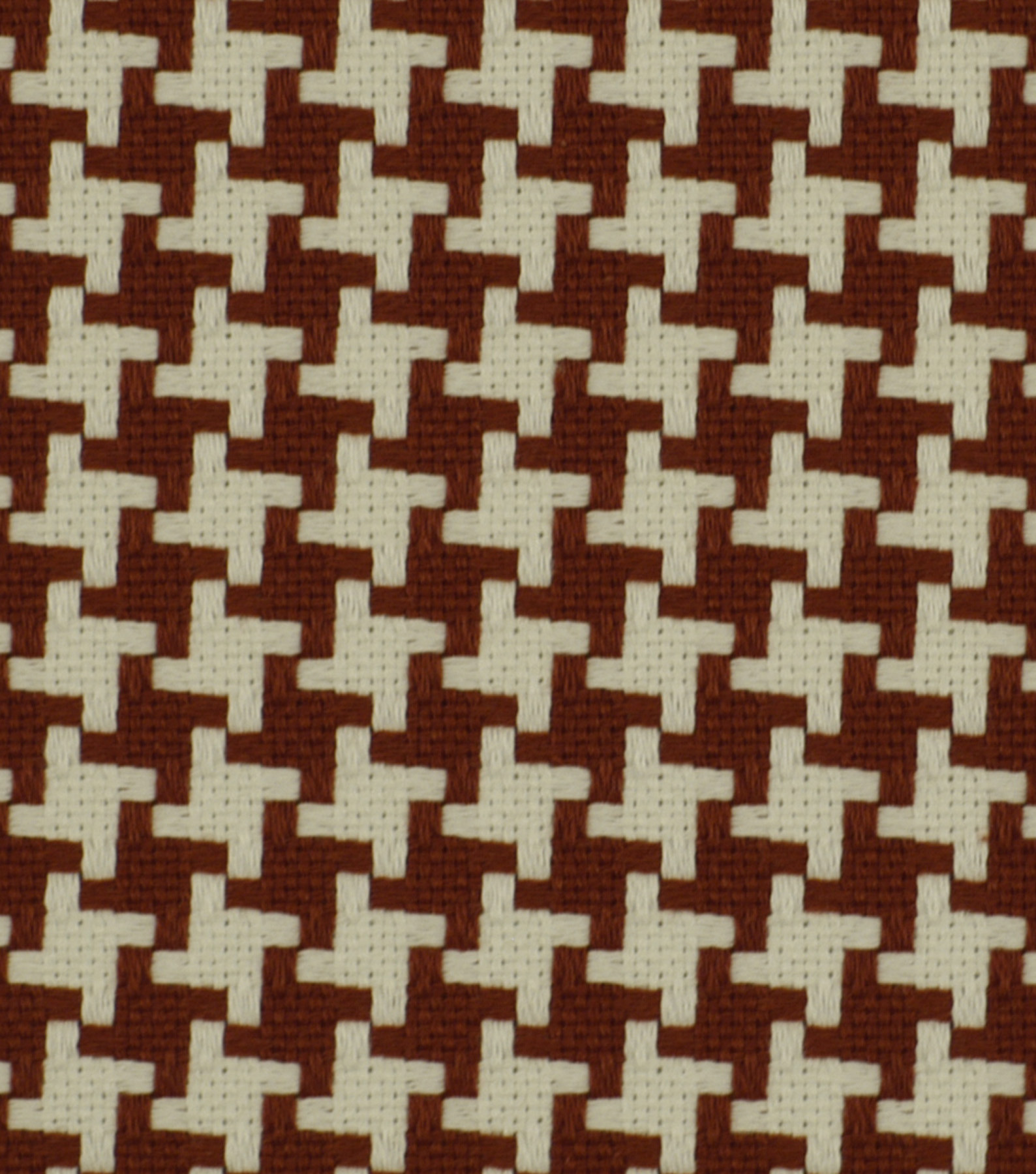 "Robert Allen @ Home Upholstery Fabric 55""-Square Pegs Cherry"