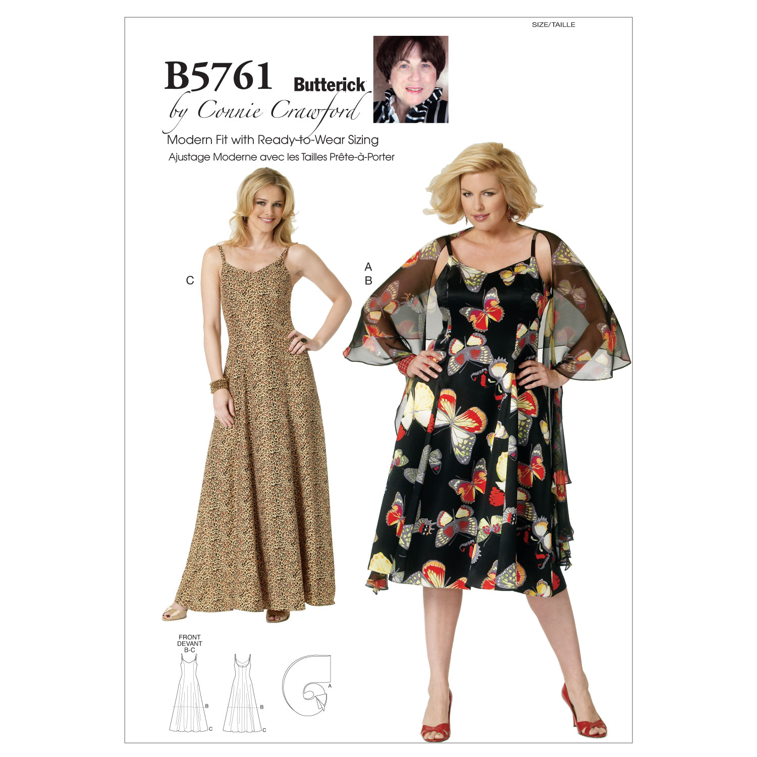 Butterick Women\u0027s Dress-B5761