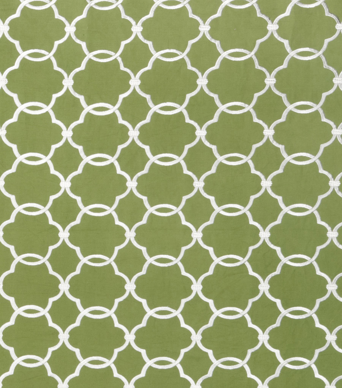 Eaton Square Print Fabric 53\u0022-Spackle/Grass