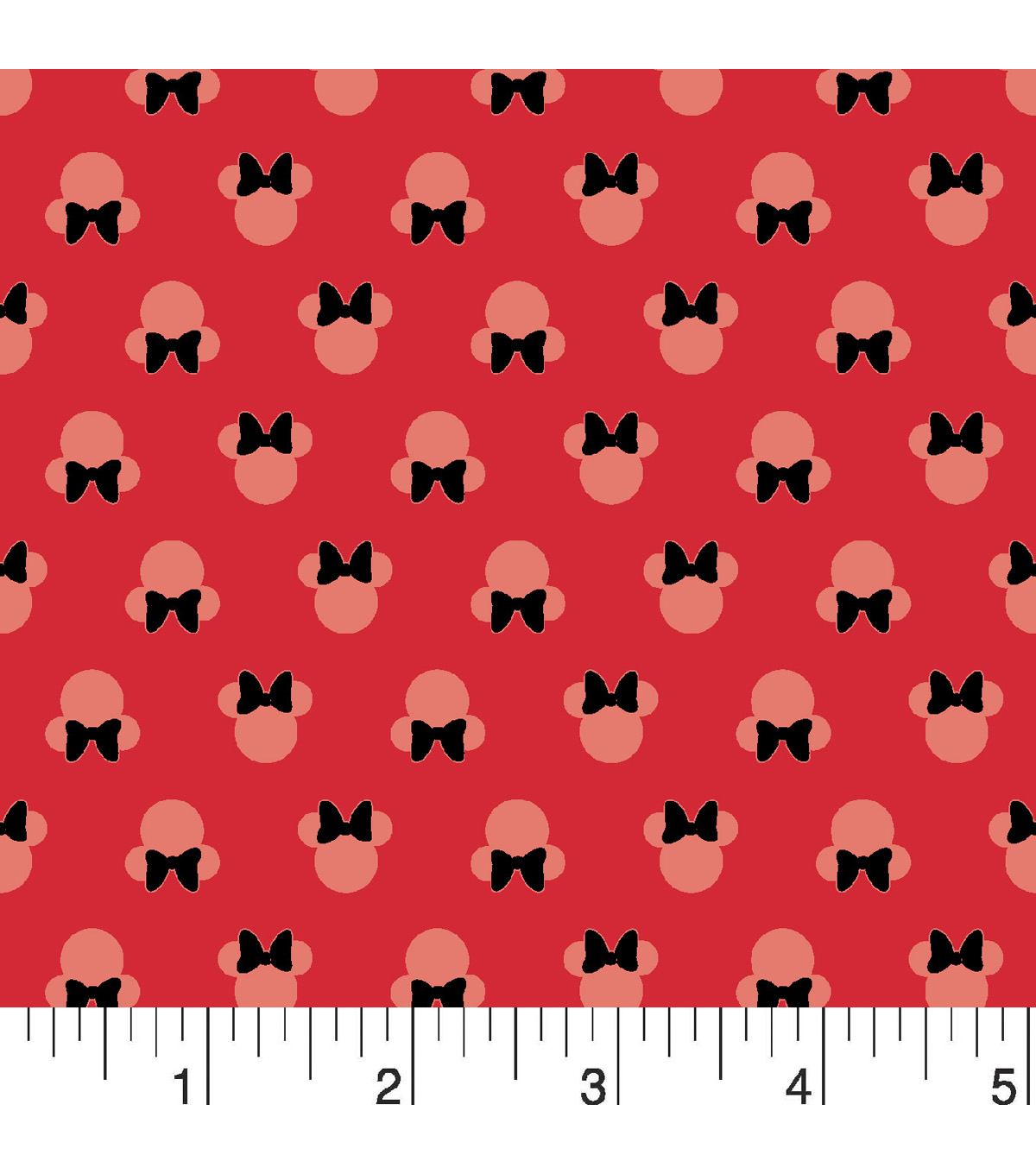 Disney® Minnie Mouse Mock Smock Cotton Fabric 21\u0022-Bow