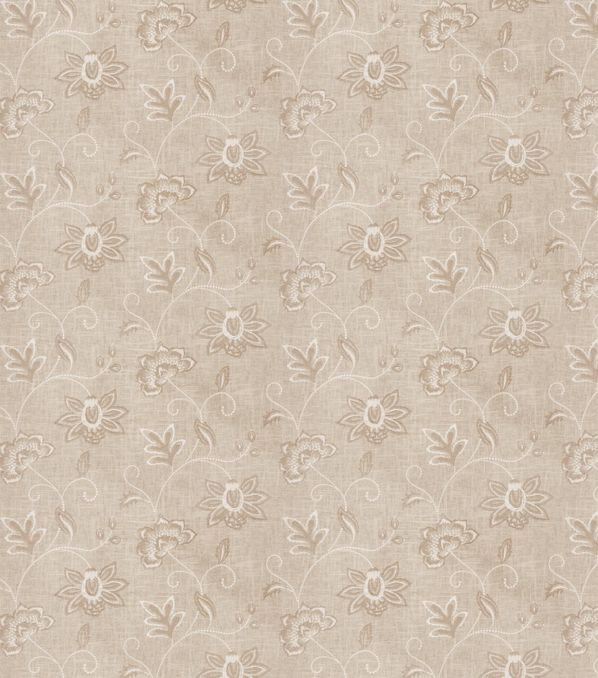 Eaton Square Print Fabric 53\u0022-Finale/Canvas