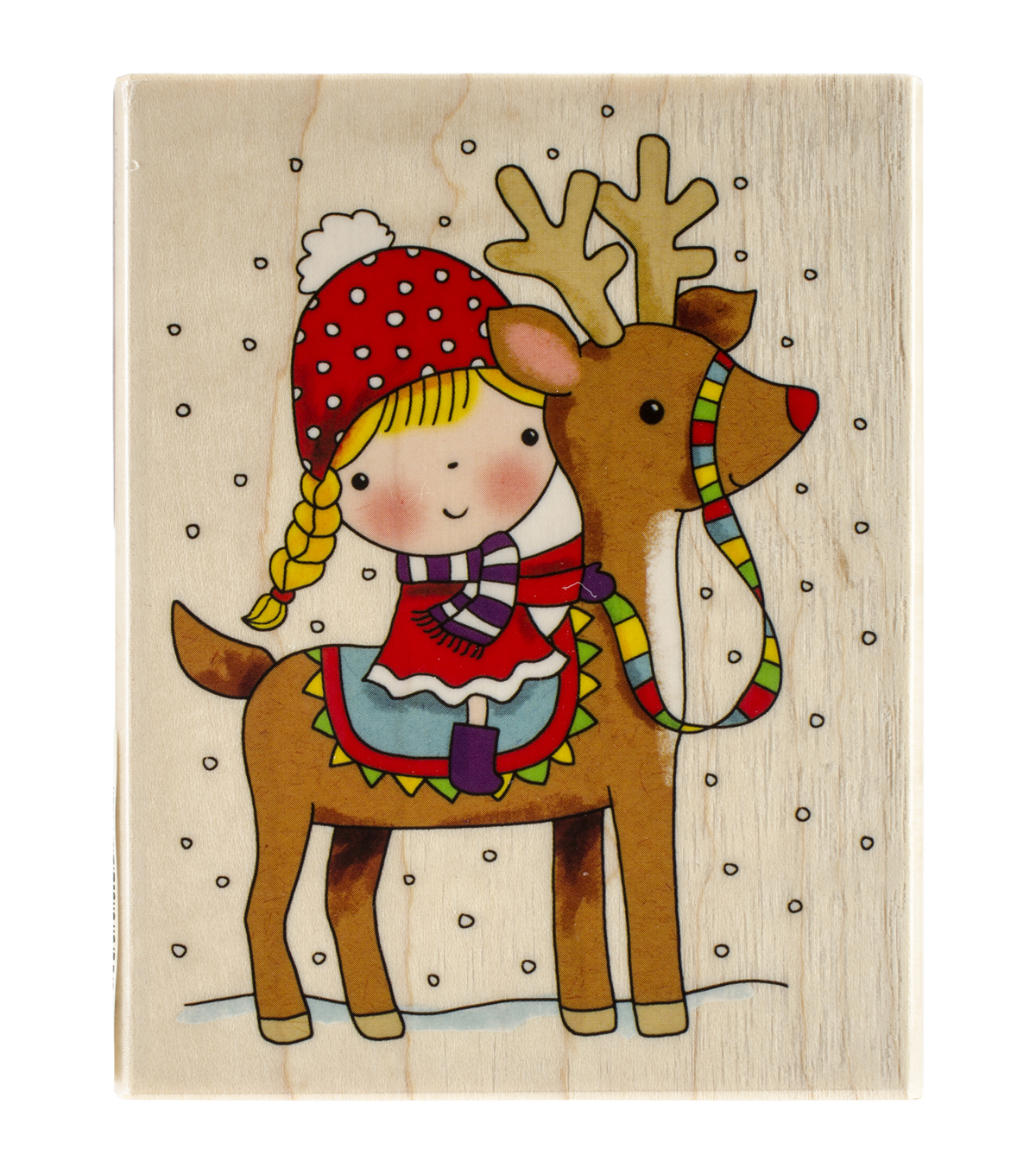 Penny Black Reindeer Games Mounted Rubber Stamp