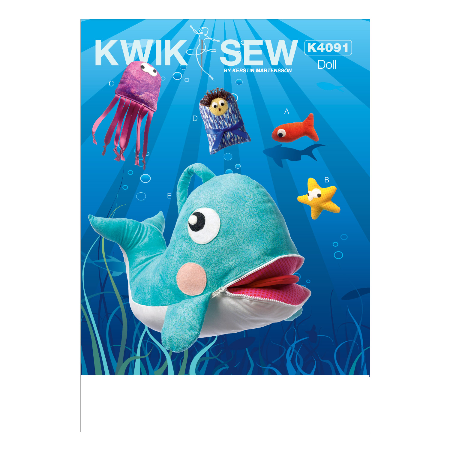 Kwik Sew Crafts Animals-K4091