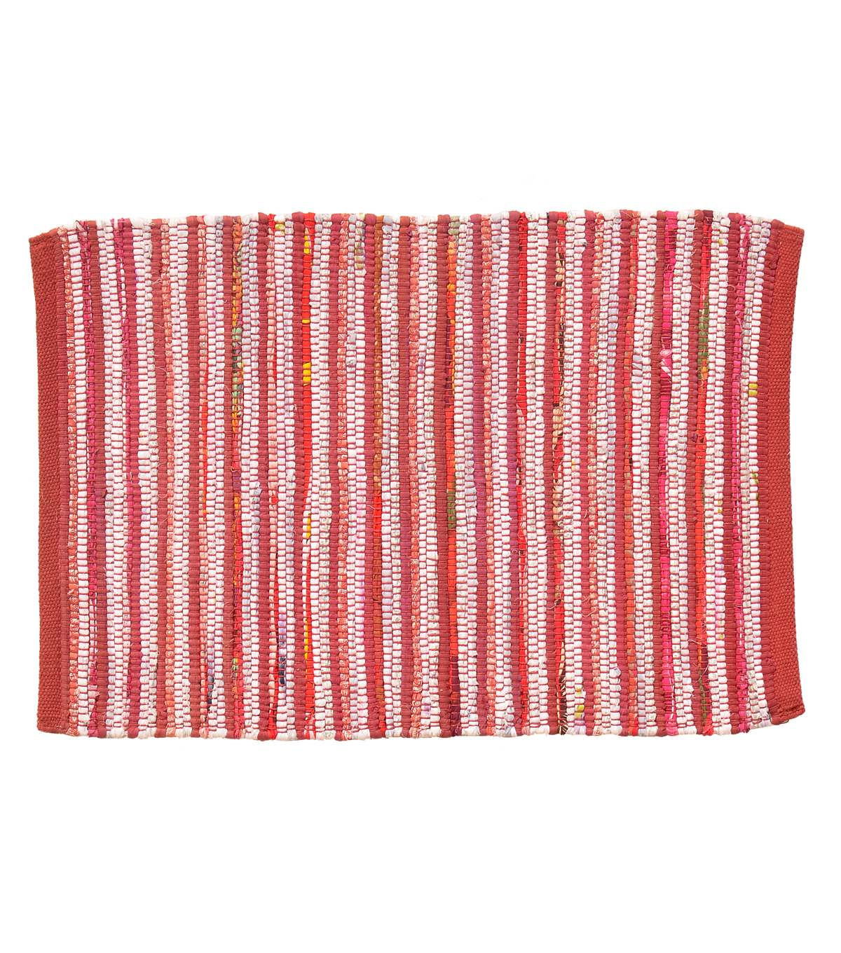 Summer Sol Hand Woven Rug-Red