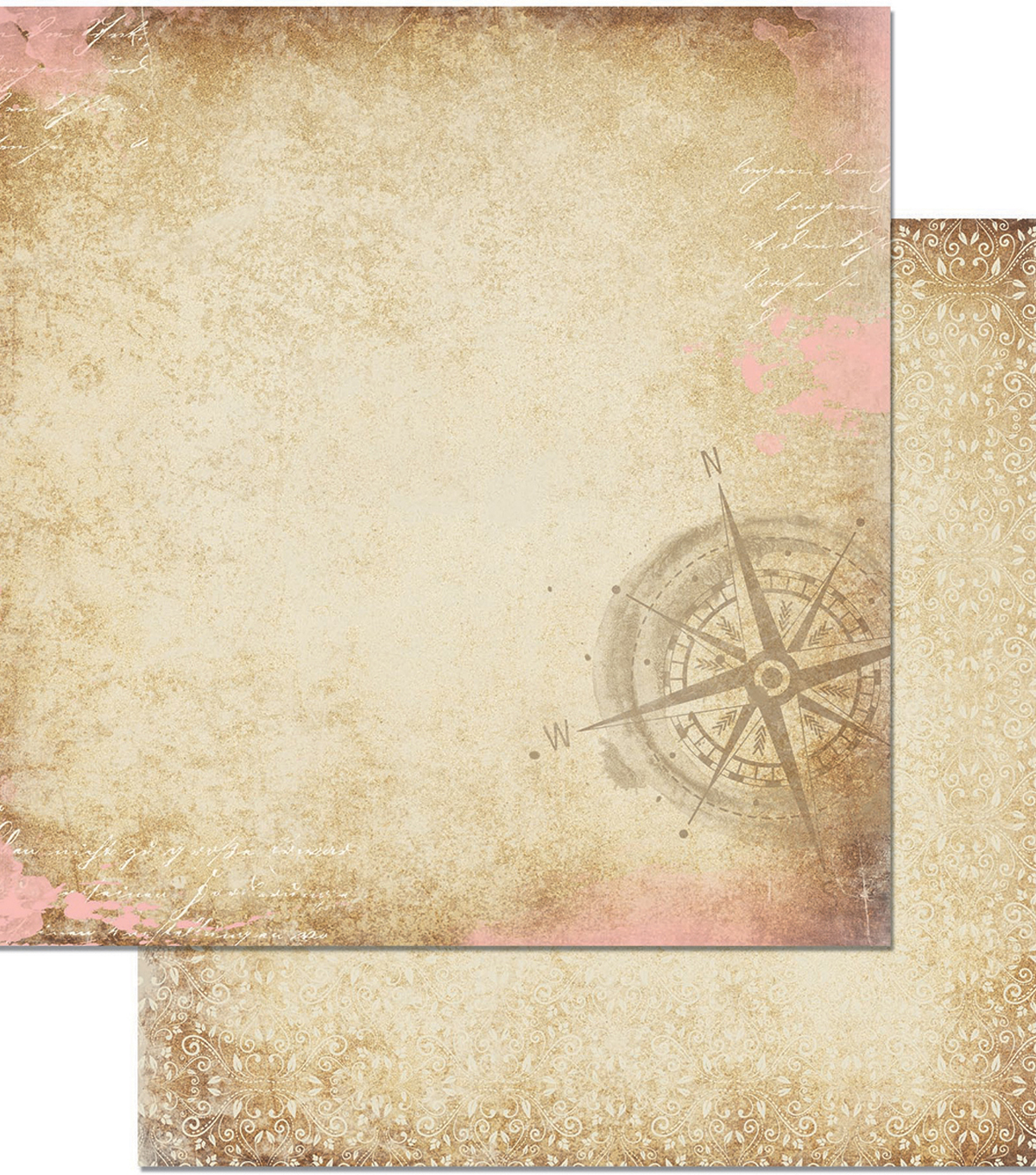 Down By The Sea Double-Sided Cardstock 12\u0022X12\u0022-Wonder