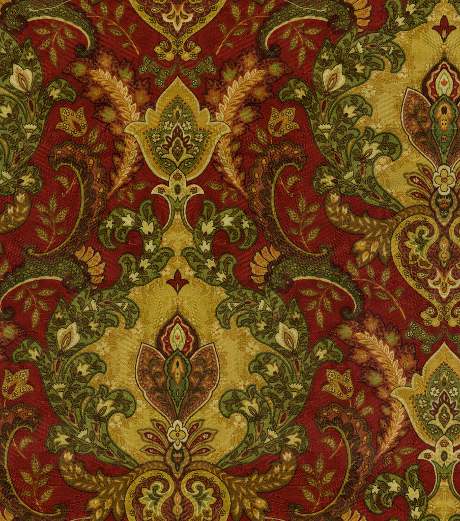 Home Decor Print Fabric-SMC Designs Lahore Ruby