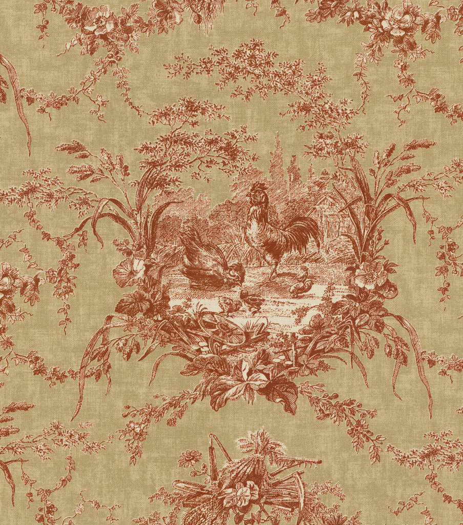 Home decor print fabric waverly la petite ferme ruby joann for Wallpaper home fabrics