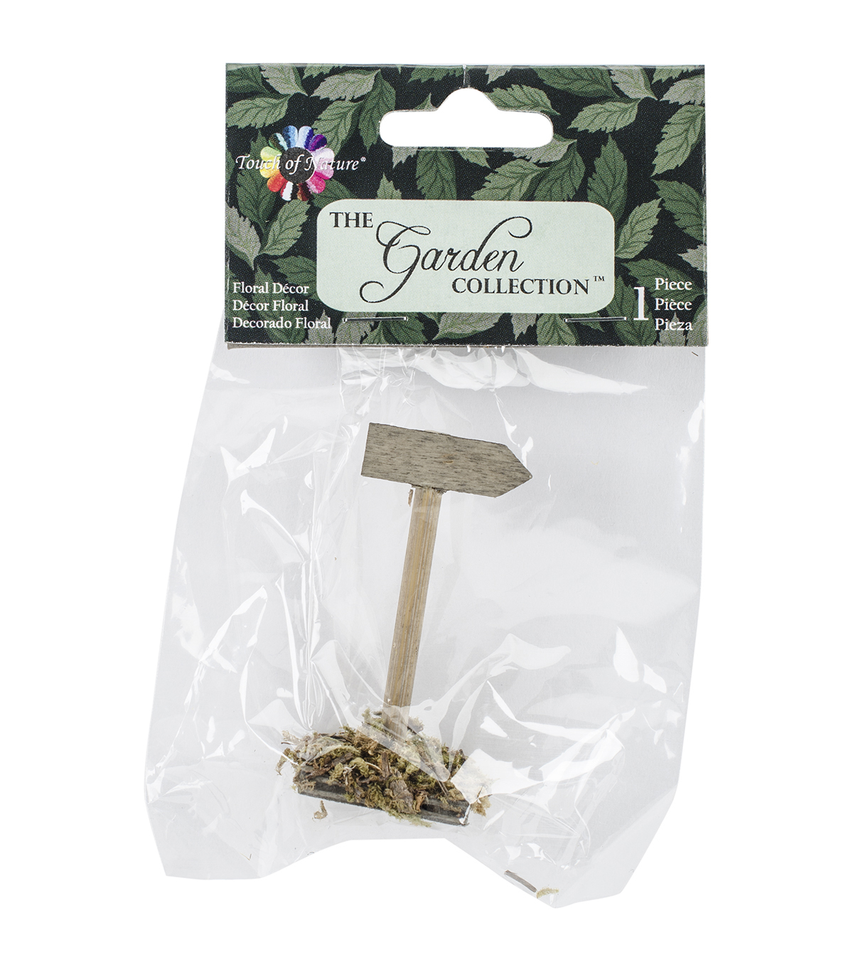 Midwest Design Imports™ Micro Mini Garden Wood Embellishment-Sign