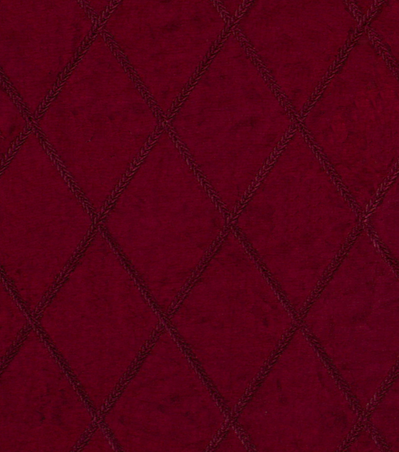 "Home Decor 8""x8"" Fabric Swatch-Signature Series Stitch In Time Claret"