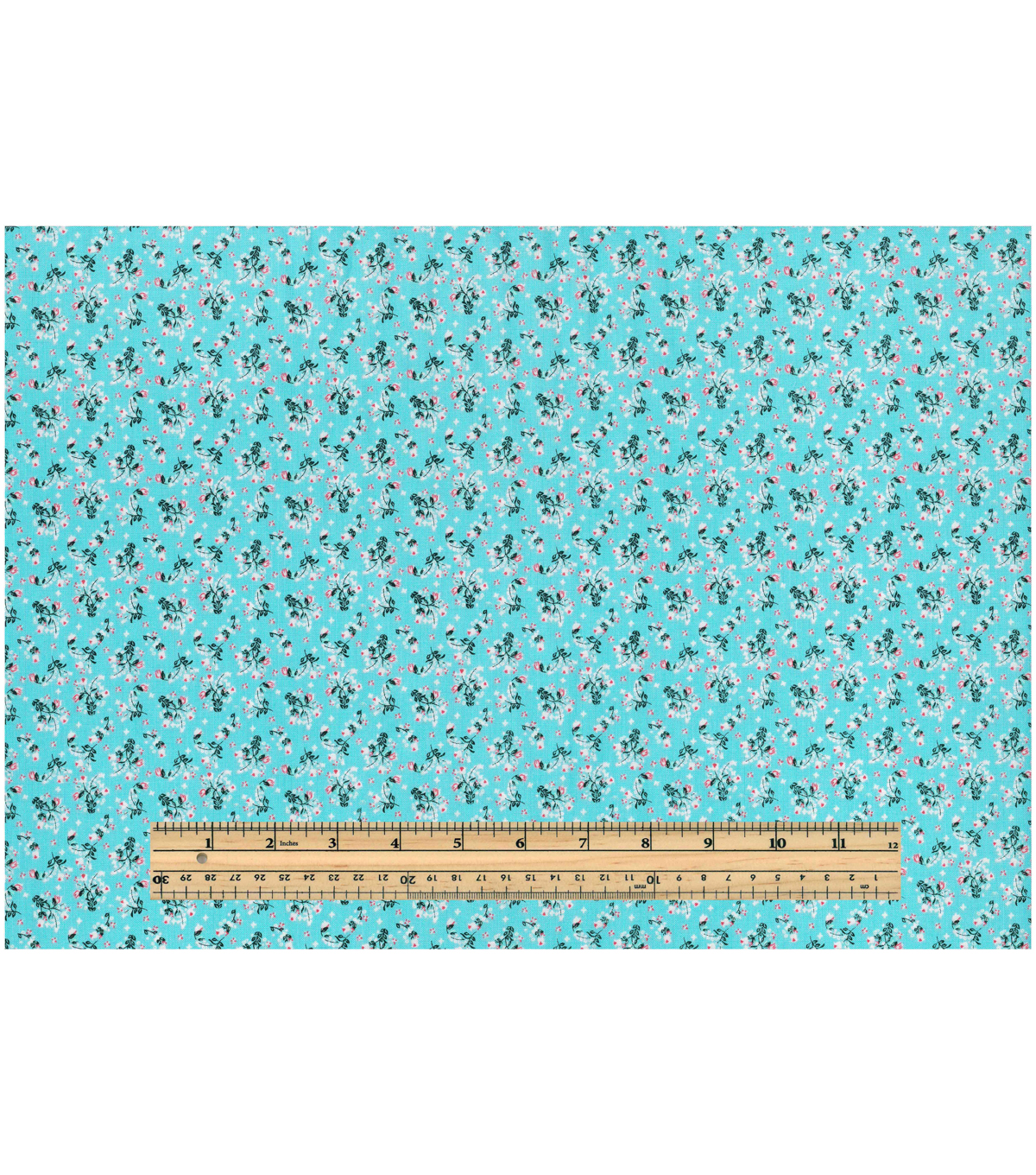 Keepsake Calico™ Cotton Fabric 43\u0022-Calico Floral Blue