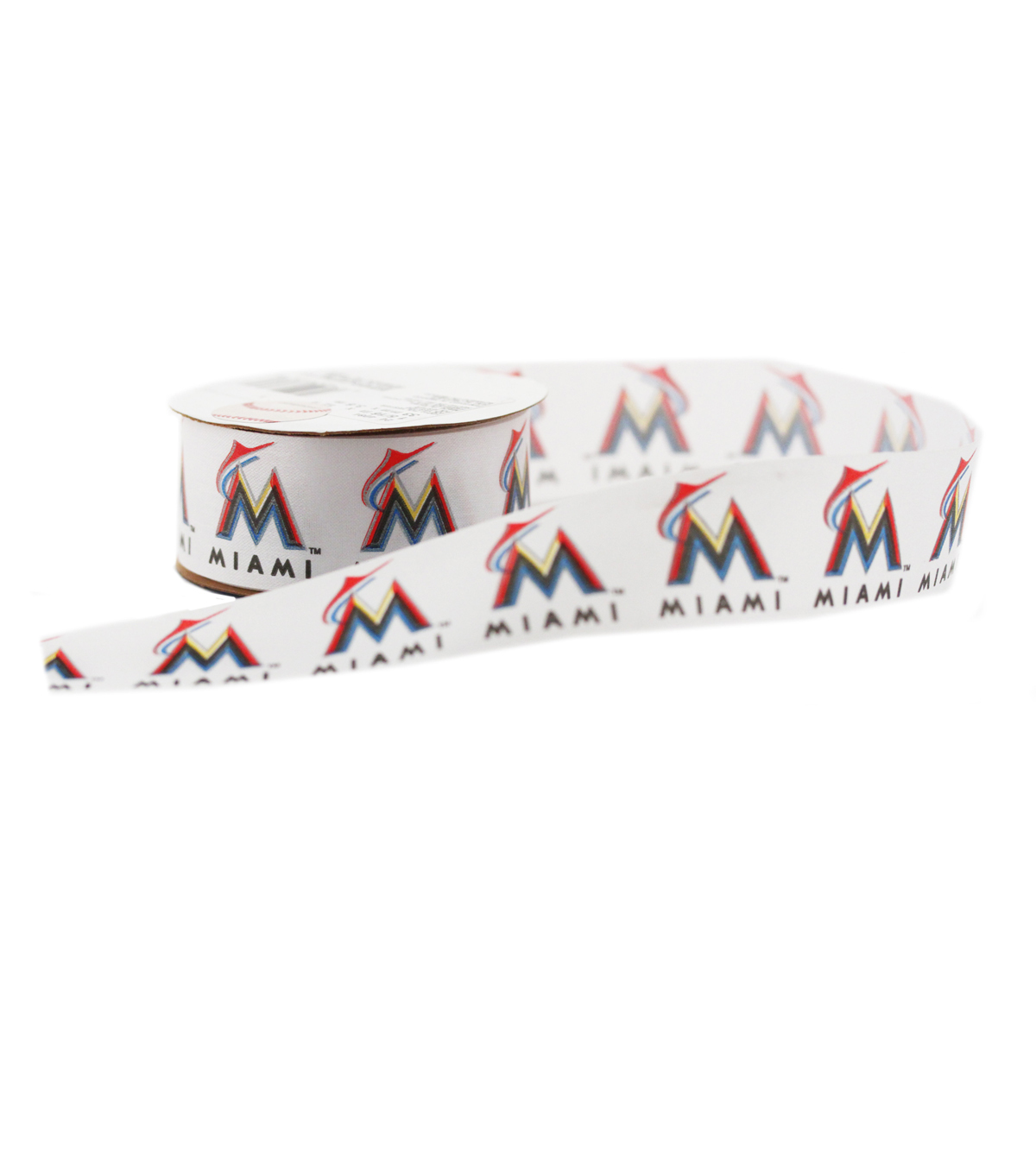 Offray MLB Miami Marlins-One and Half Inch Ribbon