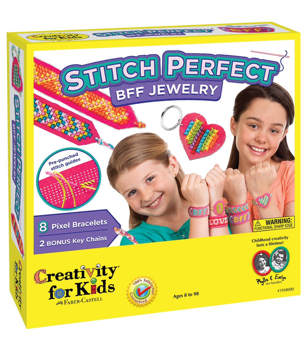 Creativity For Kids Stitch Perfect BFF Jewelry Kit