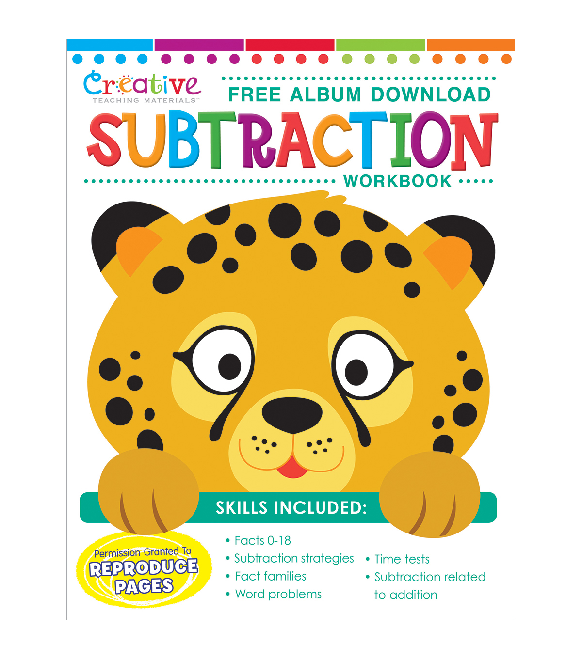 Creative Teaching Materials Workbook-Subtraction