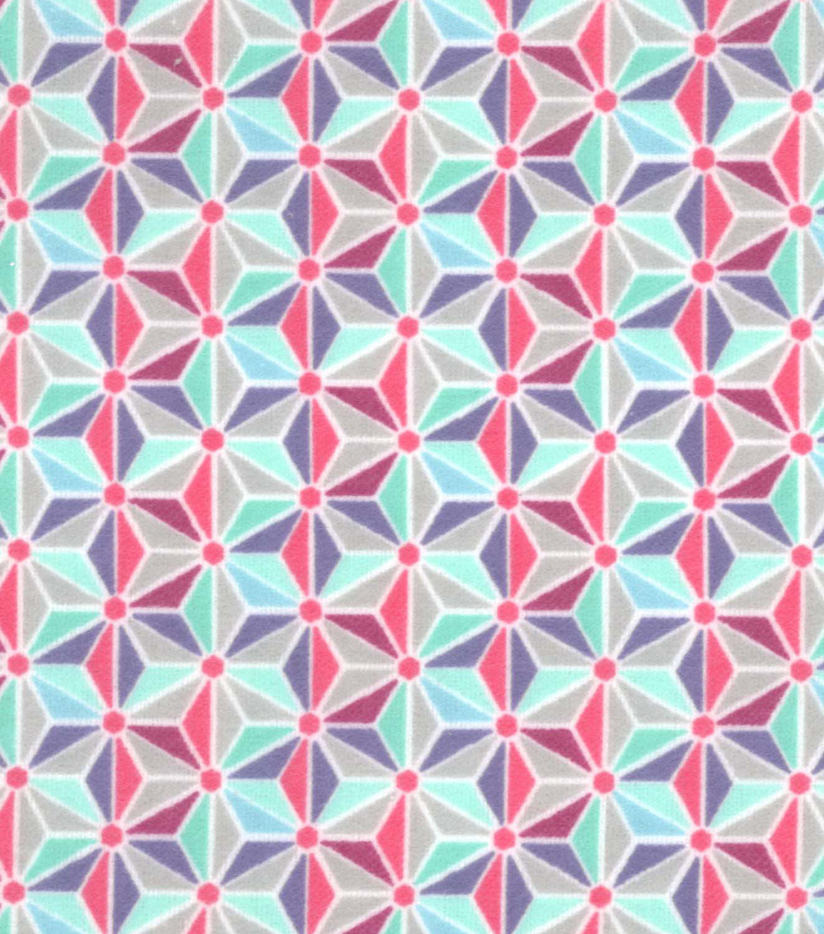 Snuggle Flannel Fabric 42\u0022-Gypsy Geometric
