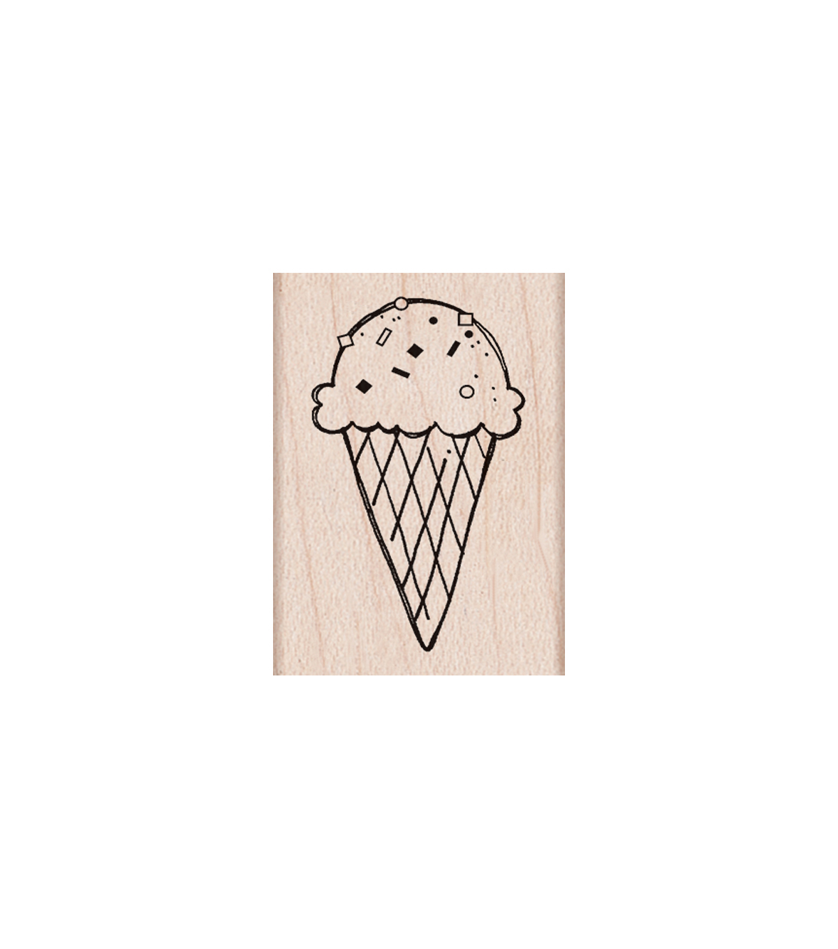 Hero Arts® Wood Mounted Rubber Stamp-One Scoop