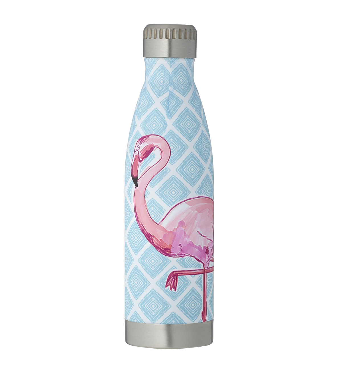 Summer 16oz. Beverage Hydration Container-Flamingo