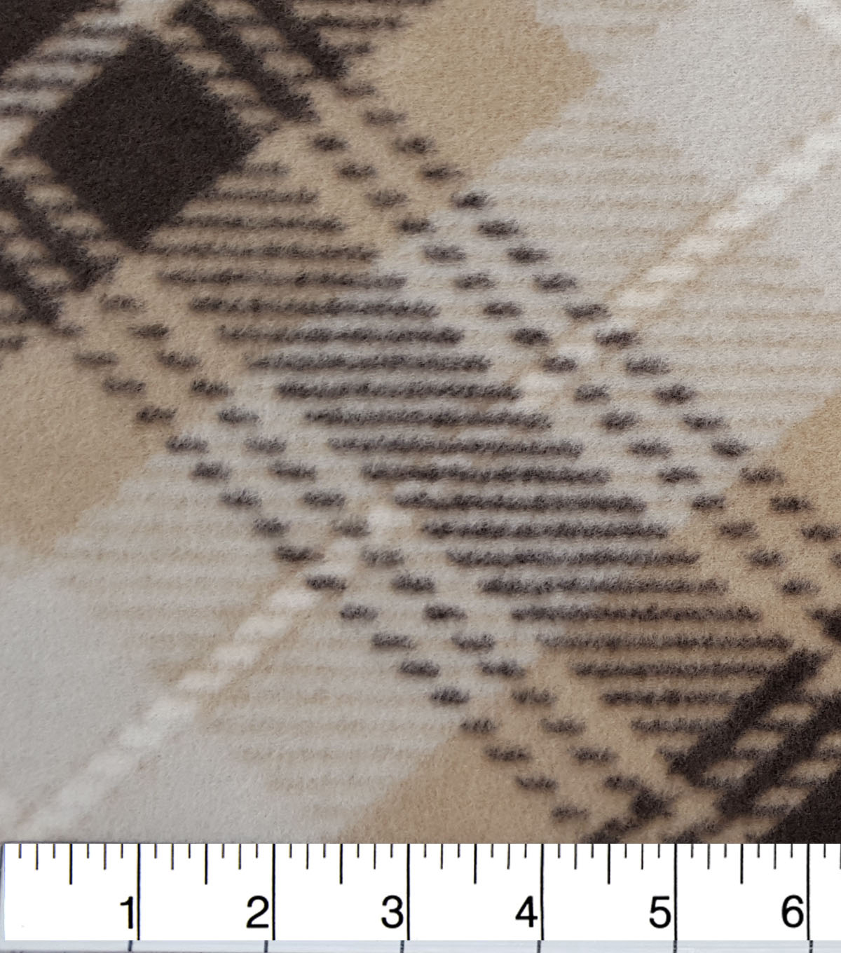 "Anti-Pill Fleece Fabric 59""-Woodland Plaid"