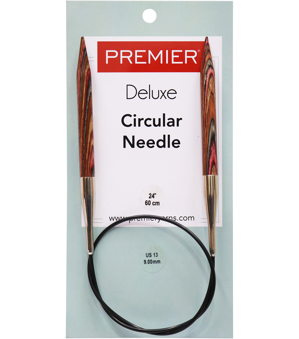 Deborah Norville Fixed Circular Needles 24\u0027\u0027 Size 13/9.0mm
